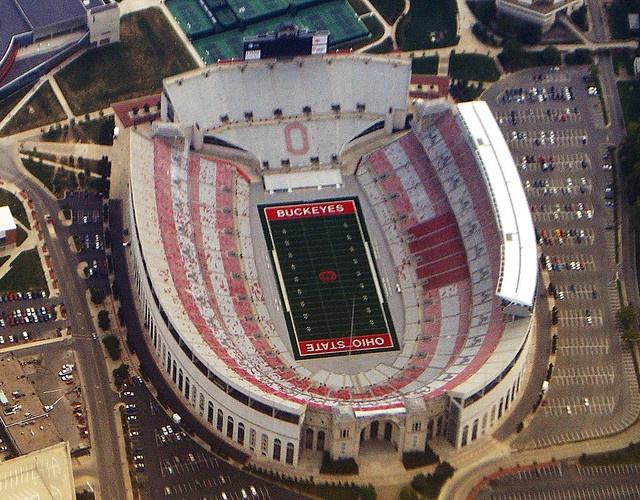 Ohio Stadium - Ohio State University Columbus, Ohio.