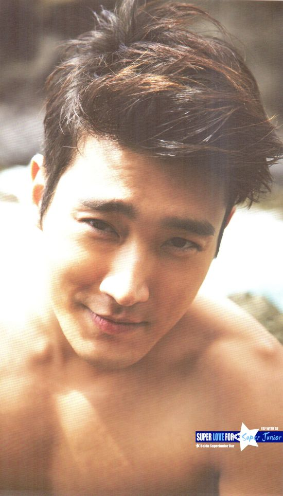 Siwon - SJ Hawaii photo book