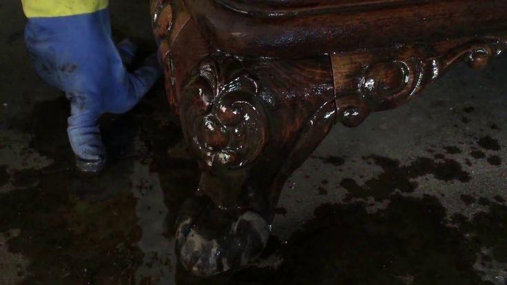 Como retirar barnices antiguos