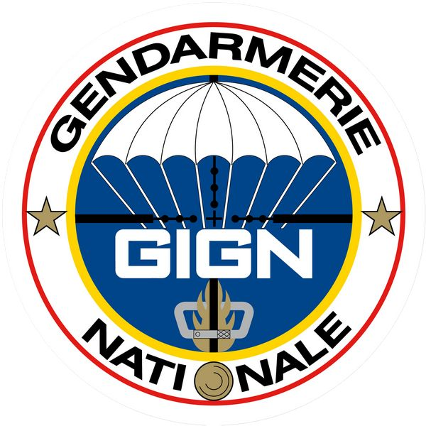 Tank you! GIGN groupe d'intervention de la gendarmerie nationale - Héraldique de l'insigne