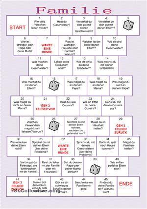 Die Serie Brettspiele soll dazu dienen, den gegebenen Stoff mündlich, auf spielerische Weise zu wiederholen. Die Instruktionen für die Lehrer sind dabei.Wenn Ihnen dieses Blatt gefällt, finden Sie hier andere Brettspile:https://de.islcollective.com/mypage/my-creations?search_key=Brettspiele&type=printables&option=published&id=5163&grammar=&vocabulary=&materials=&levels=&studentTypes=&skills&#...
