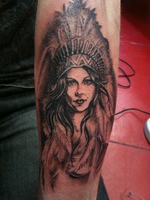 1000 images about me on pinterest indian tattoos for Indian woman tattoo