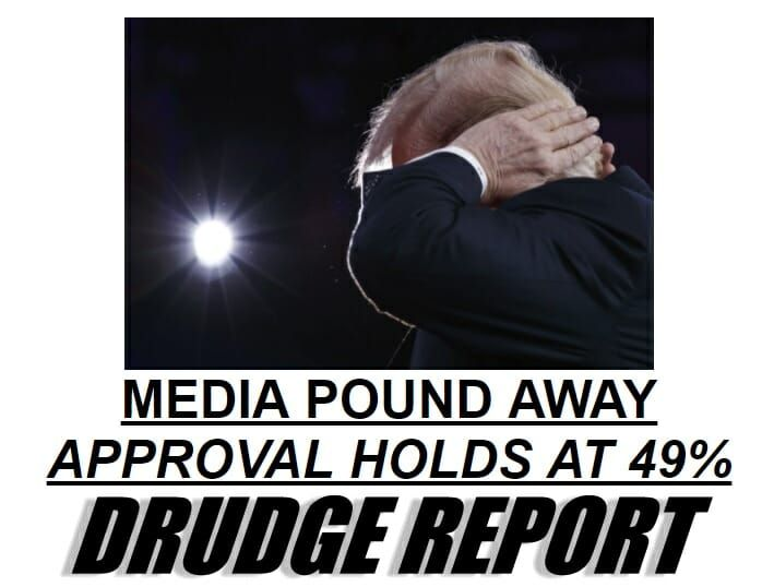 AMAZING! President Trump's Approval Rating Holds at 49% - 2 Points Better than Barack Obama at Same Time in His Presidency