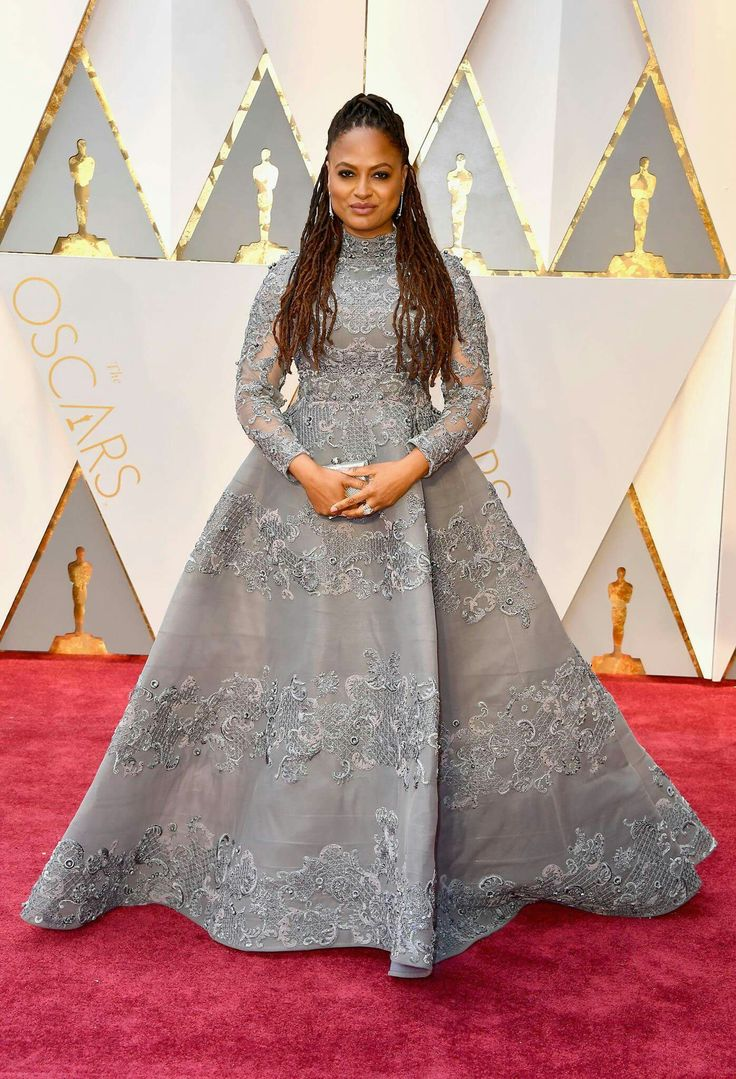 Stunning ava duvernay on the oscars red carpet i chose to wear a