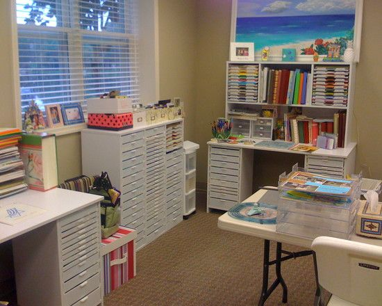 Home Office Craft Room Design, Pictures, Remodel, Decor And Ideas   Page 7