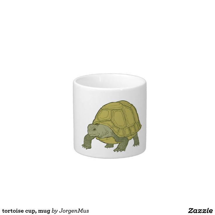 tortoise cup, mug espressokopjes