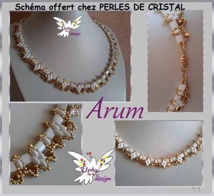 """DESIGN: collana """"ARUM"""" (kit disponibili, sotto il titolo KIT)"""