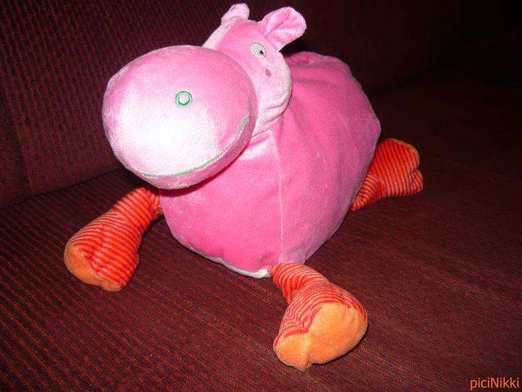 No. 208 | víziló | hippo | plüss | plush