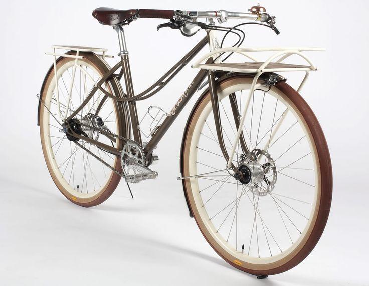 impressive stylish urban bike classic design and