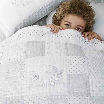 Noah's Ark Cot Bed Quilt | Cushions, Quilts & Throws | Childrens' Bedroom | The Little White Company | The White Company UK