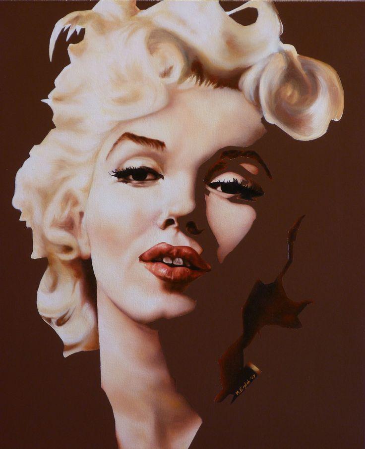 Marilyn | Michael English | Affordable Art. Contemporary Art. DegreeArt.com