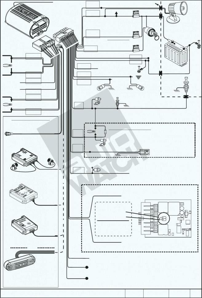 wiring diagram of motorcycle alarm system http