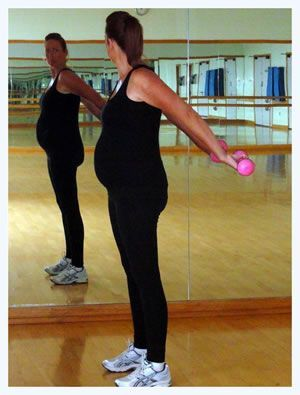 Pregnancy workout 3rd Trimester...I'll be glad I pinned this one day