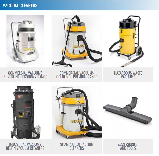 We have a complete line of heavy-duty industrial vacuum cleaners and commercial vacuums to get any job done.