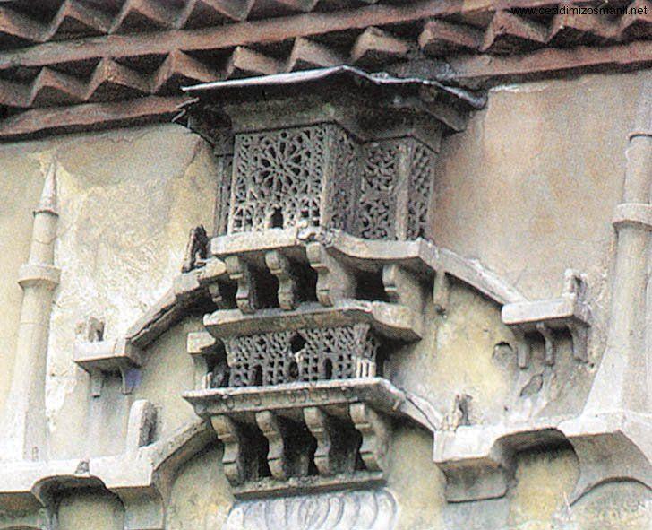 Osmanlı'da kuş evleri mimarisi (casa di uccelli in architettura ottomana).