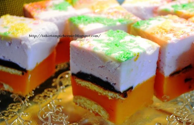 """Smak, zapach, kolor...: Ciasto """"Kubuś"""" bez pieczenia"""