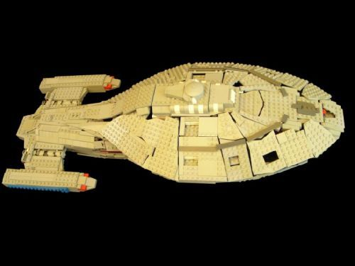 USS Voyager: A LEGO® creation by Sven Junga : MOCpages.com