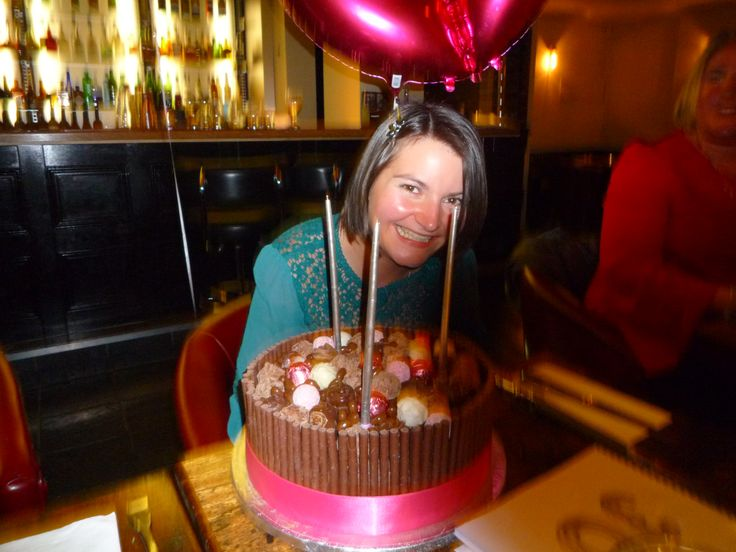 A 30th birthday cake for my sister a self confessed chocoholic