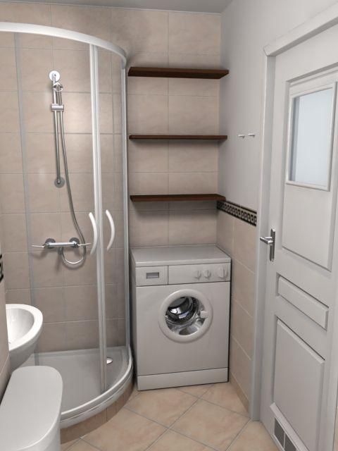 aranżacje małej łazienki w bloku - Szukaj w Google
