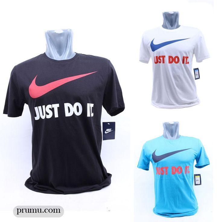 'Just Do It' kaos dengan shout out keren ini cocok untuk dipakai liburan, get them here >> goo.gl/S1gIKE