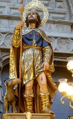Alicante Callosa de Segura - San Roque en la Iglesia Arciprestal de San Martín