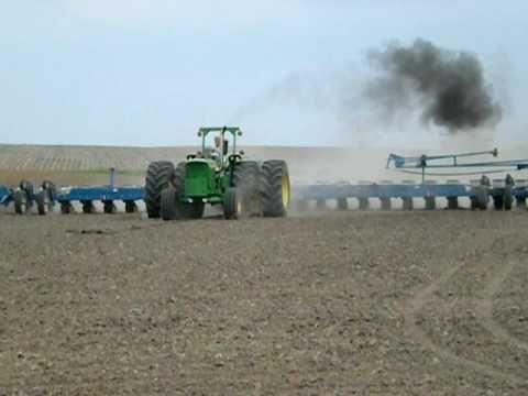 John Deere 6030 and 24 Row Kinze Planter
