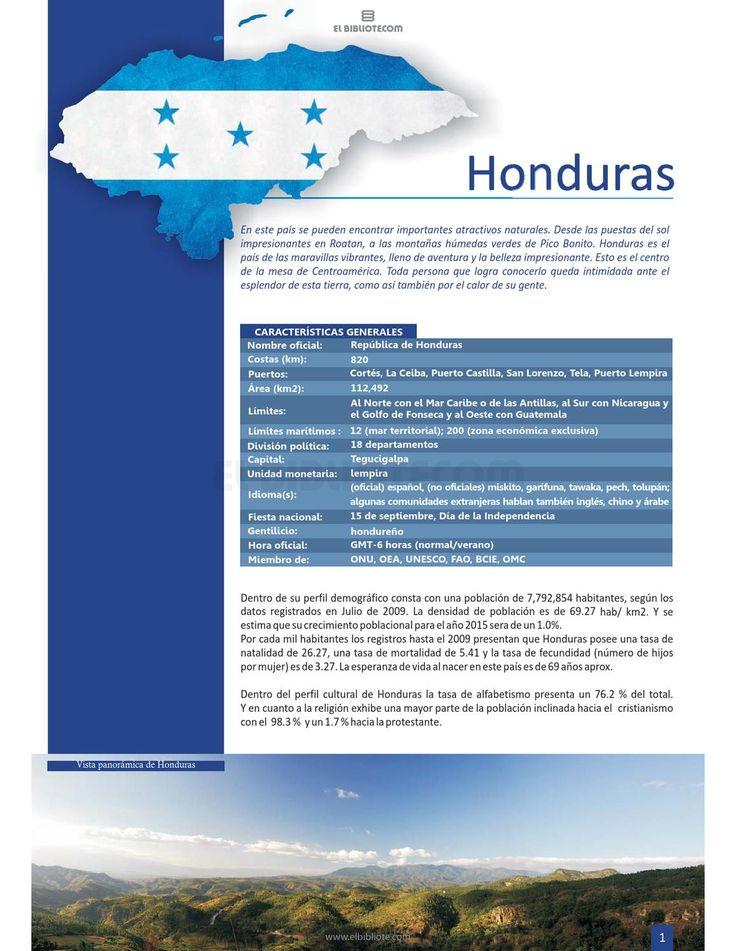 Tomo 1 - Honduras - elbibliotecom by Mundo Hispano - issuu