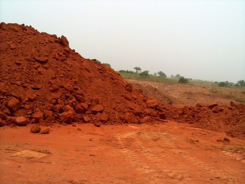 Georgia red clay soil well its the same in for South carolina soil