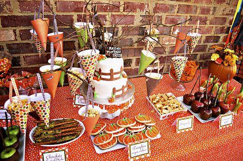 Pumpkin Patch 1st Birthday Party