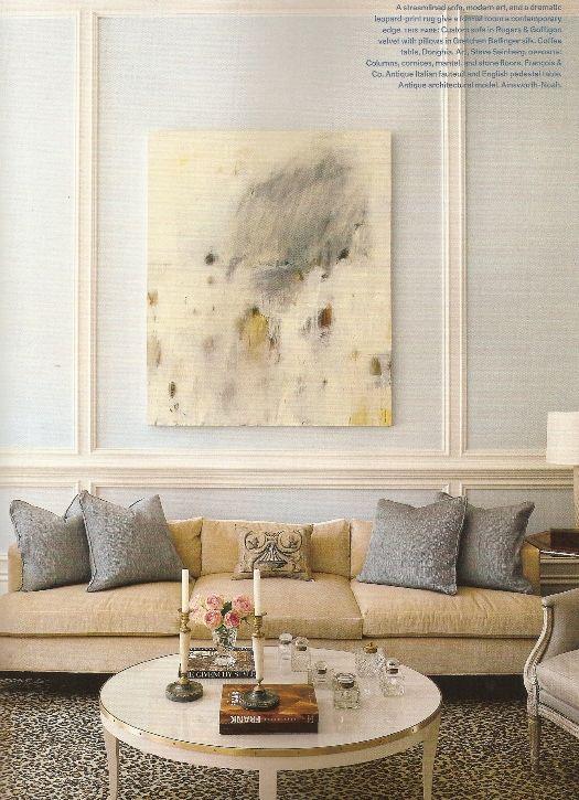 Artist Steve Seinberg In Veranda Mag(home Designed By Suzanne Kasler For  Doni King Rhineheart)