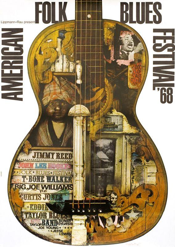 Nola Jazz Fest >> 17 Best images about Archive of Blues Festival Posters ...