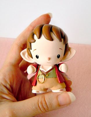 Mijbil Creatures: Bilbo Baggins - vinyl Micro Munny from The Hobbit