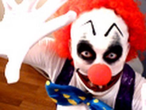 Comment faire un maquillage de clown diabolique ?