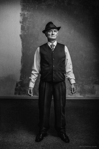 1920's gangster.