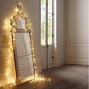 """Les lumières LED Micro sur fil de cuivre avec 100 LED blanc chaud fournit un éclairage décoratif brillant pour les petits projets. Entrez vos fleurs de mariage une étincelle, illuminer vos petits verres décoratifs et des lanternes ou draper les … <a href=""""http://www.organisetafete.fr/produit/salcar-colore-led-guirlande-lumineuse-de-10-metres-33-ft-100-diodes-a-linterieur-du-fil-de-cuivre-micro-pour-les-fetes-de-noel-party-decorating-blanc-chaud/"""">Lire la suite</a>"""
