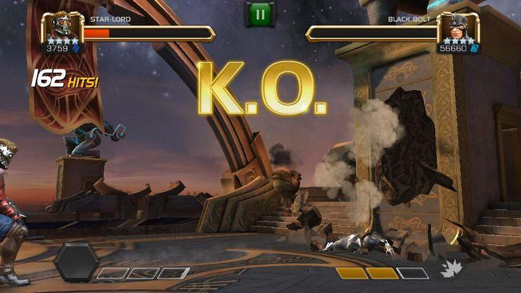 Star Lord vs Black Bolt