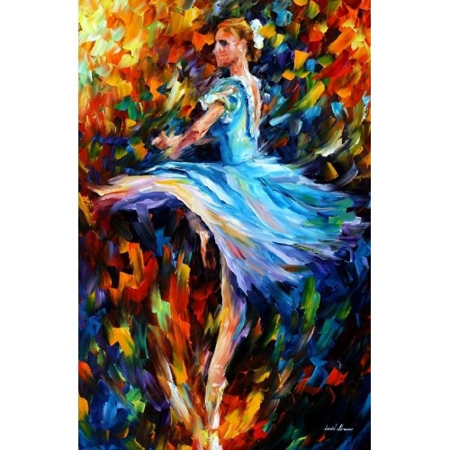 Quot The Spinning Dancer Quot Leonid Afremov Another Ballerina