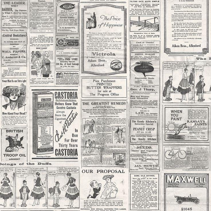 Wallpaper Inn Store - Newspaper Pint, R899,95 (http://shop.wallpaperinn.co.za/newspaper-pint/)