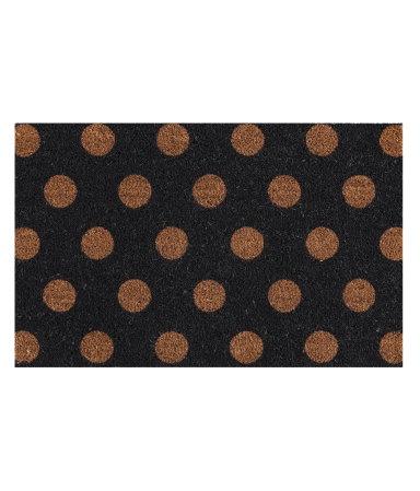 H&M Home - Door Mat (not available in US): Work Pics, Elm Doormats, Polka Dots, Floors Matte, Doors Mats, Holidays Decor, Outdoor Spaces, West Elm, Dots Doormats