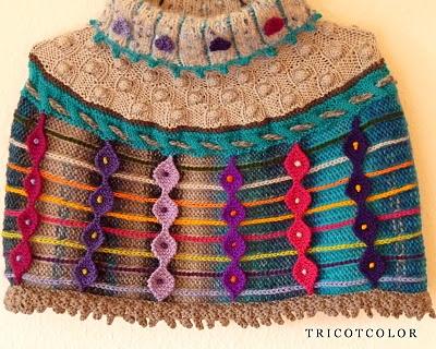 Tricotcolor: Farfalles et berlingots