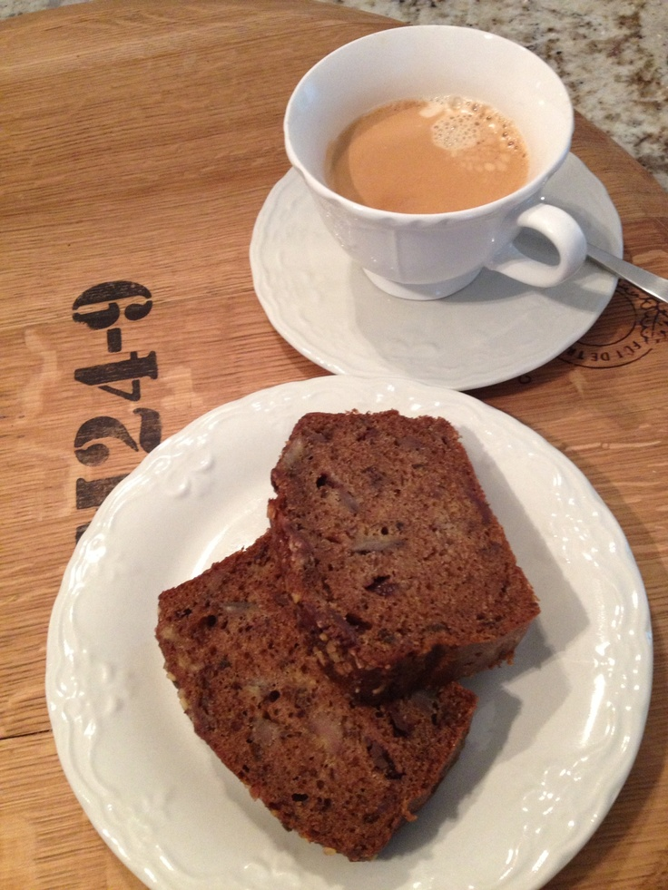 To die for Banana bread with Nespresso...true bliss