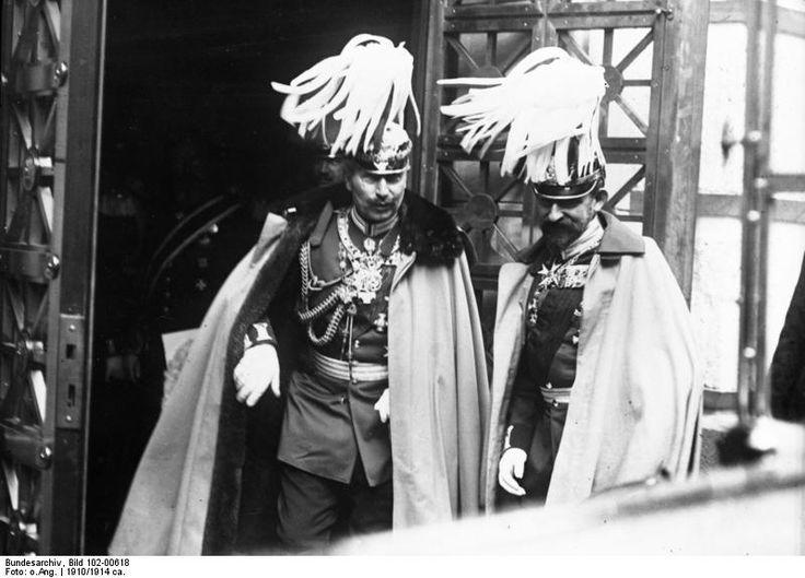Kaizer Wilhelm II and Carol I of Romania