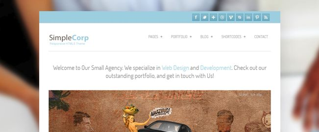 Free WordPress Business & Corporate Themes for 2013