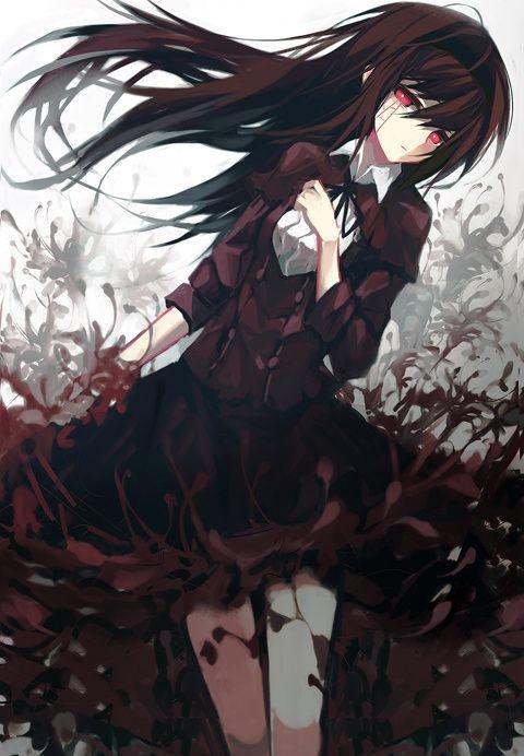 25 best ideas about anime girl crying on pinterest - Dark anime girl pics ...