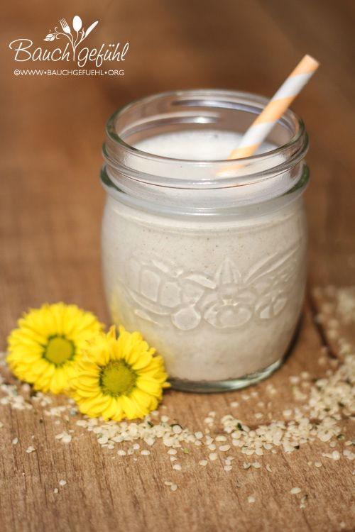 Hanfmilch selbstgemacht, vegan, histaminarm, glutenfrei und fructosefrei
