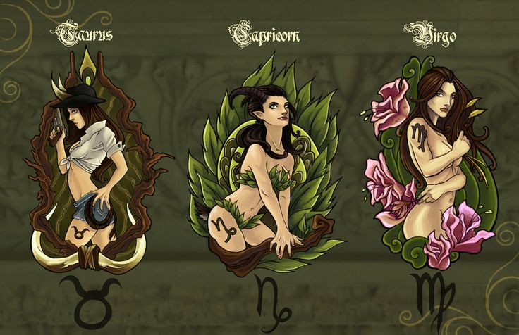 Taurus, Capricorn & Virgo: The Earth Signs