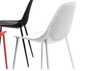 Chaise empilable en aluminium design MAMMAMIA PUNK - Opinion Ciatti