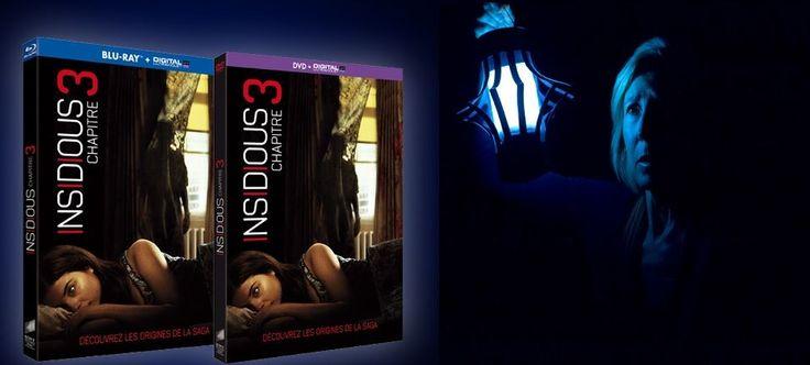 Jeu Concours: Insidious : Chapitre 3 sortie en DVD, Blu-ray et VOD le 25 Novembre