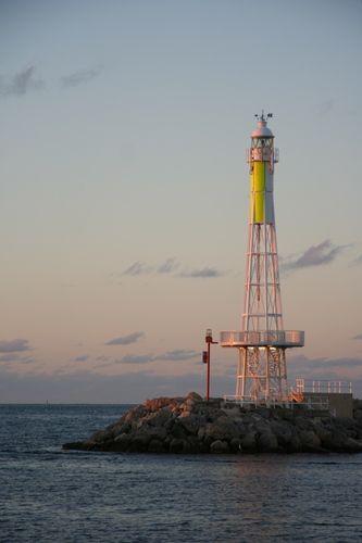 Hillarys Boat Harbour lighthouse [1986 - Sorrento, Western Australia, Australia]