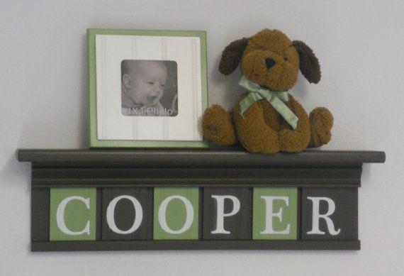 Letter Wooden Wall Nursery Custom LettersWooden Wall